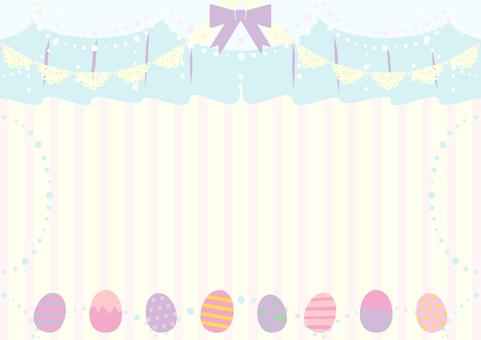 Easter easter egg background