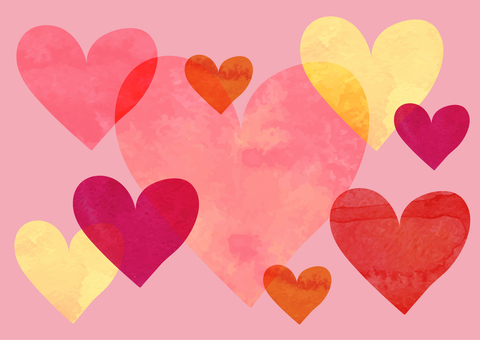 Valentine card template 5