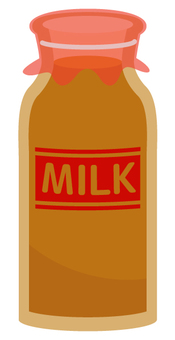 Coffee milk bottle