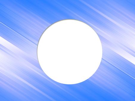 丸枠Blue