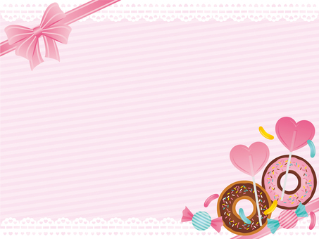 Sweets Frame * Pink