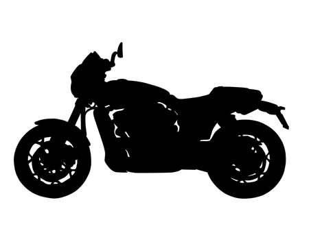 Motorcycle Silhouette 2