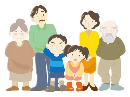 家族〈三世代〉
