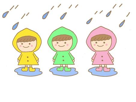 Rainy season rain