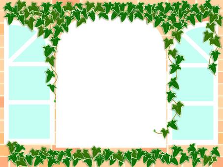 Antique window · Ivy's frame