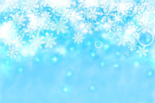 Snow background aqua