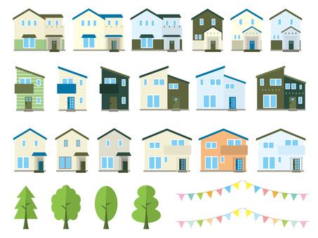 Housing illustration set 02