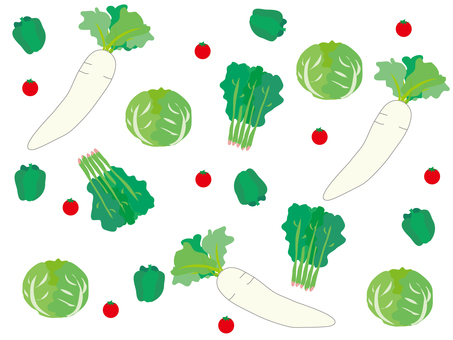 Vegetable pattern