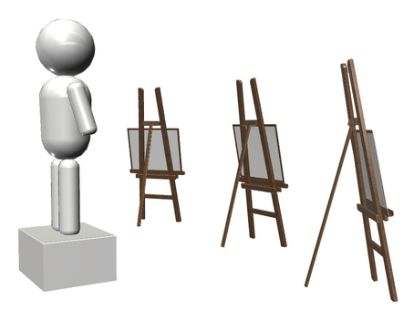 Drawing easels