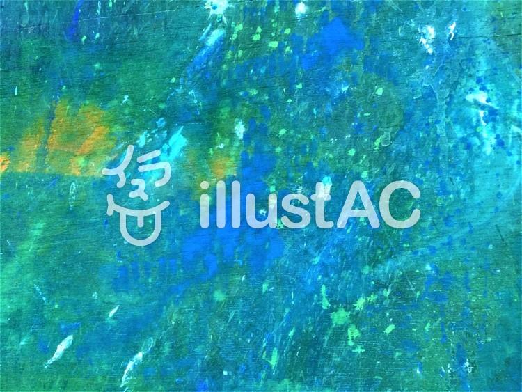 青の躍動のイラスト