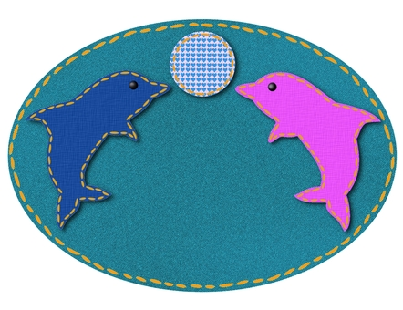 Denim dolphin