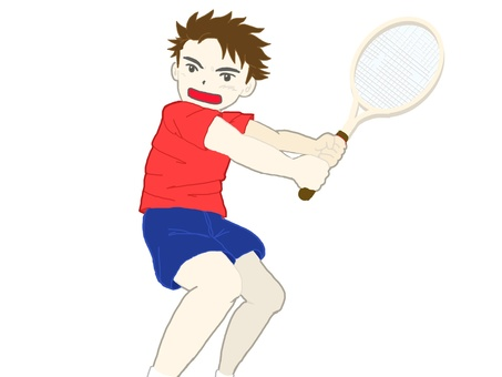 Tennis player!