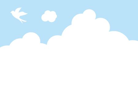 빈 구름 새