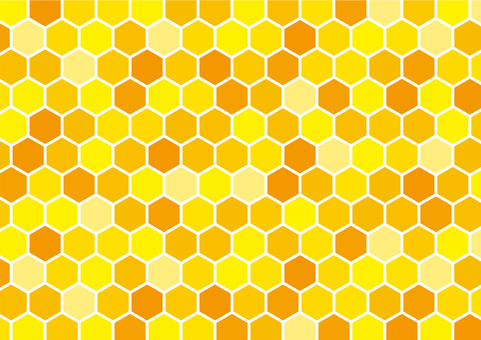 Honeycomb (with white line)