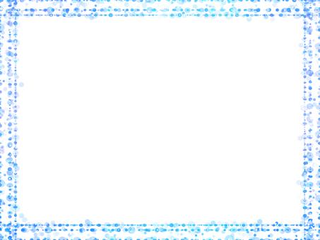 Dot frame 7 (blue)