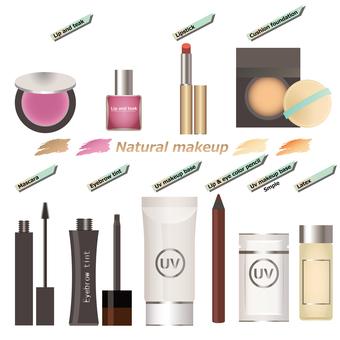 Cosmetics Natural makeup