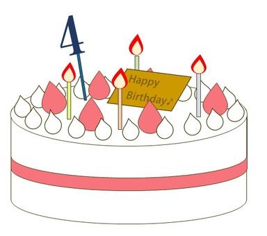 4 year old birthday cake