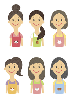 Childcare's upper body icon