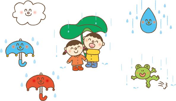 June rainy season