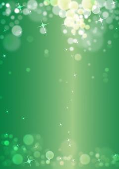 반짝이 녹색