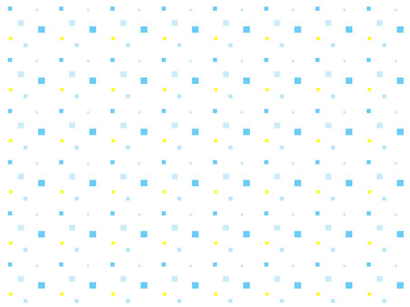 Seamless pattern studded with squares: blue