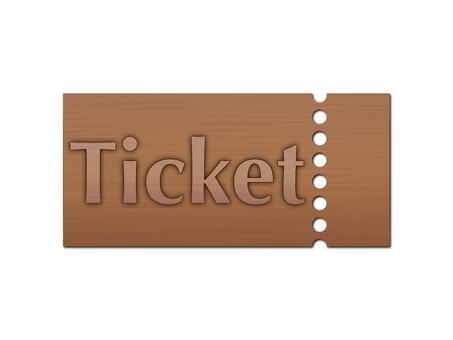 Copper ticket