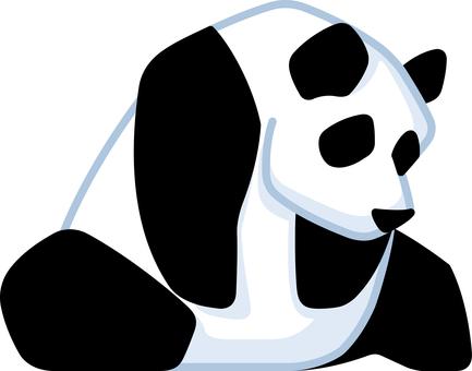 パンダ ジャイアントパンダ 動物