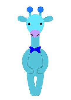 Giraffe (Blue)