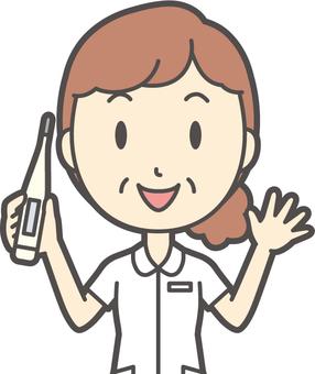 中年女護士白大衣 -  285胸圍