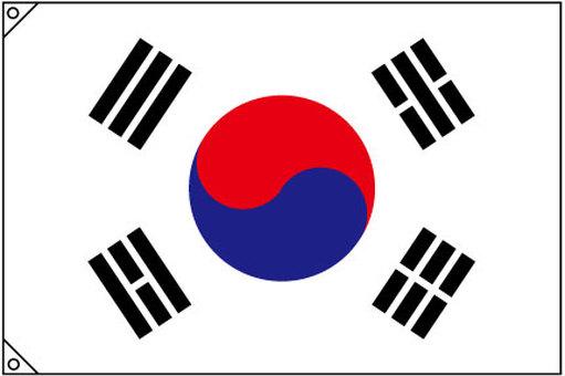 大韓民国 韓国 国旗 太極旗