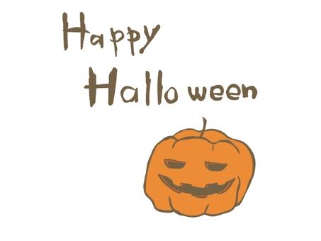 Halloween pumpkin (coloring)