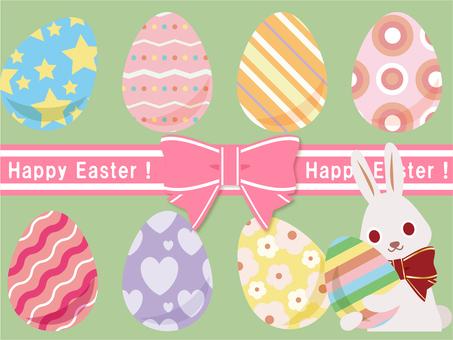 Easter 002 (egg, pattern set)