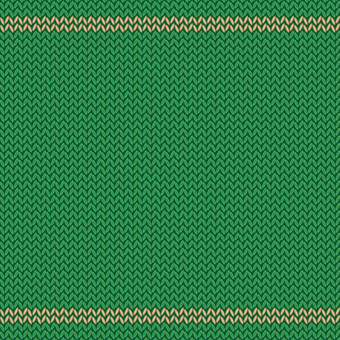 Knit / green