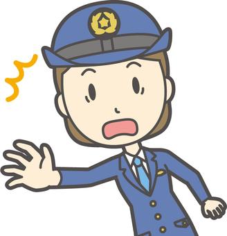 Policewoman-312-bust
