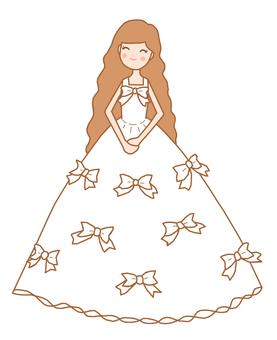 Dress ⑪ Line tea