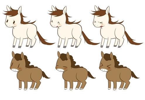 Horse (2 types)