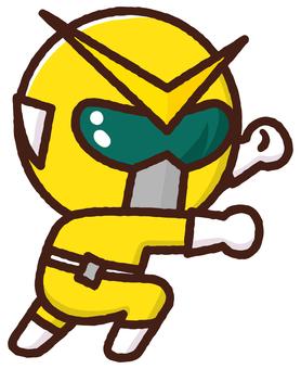 Material Sentai Five Jar <Yellow>
