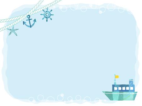 船フレーム
