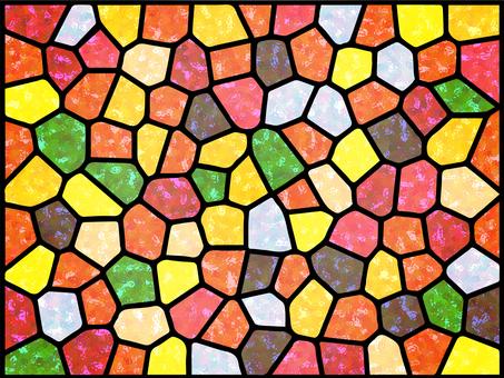彩色玻璃背景(光)
