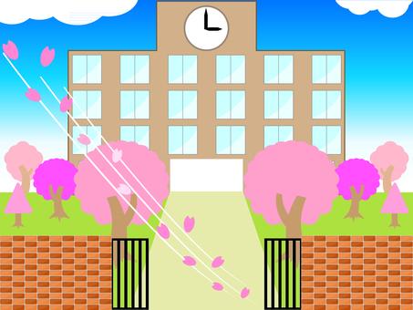 學校 桜ver.
