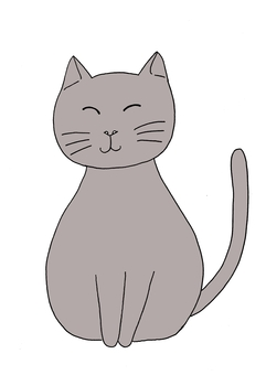 Gentle cat