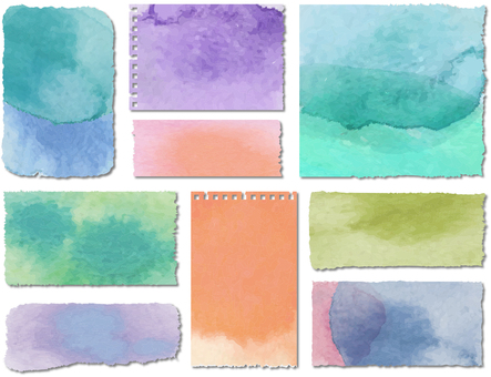Colored paper memo