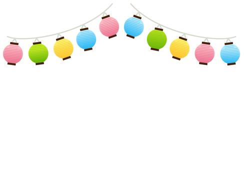 Lantern colorful background