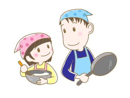 Parent and child cooking 2