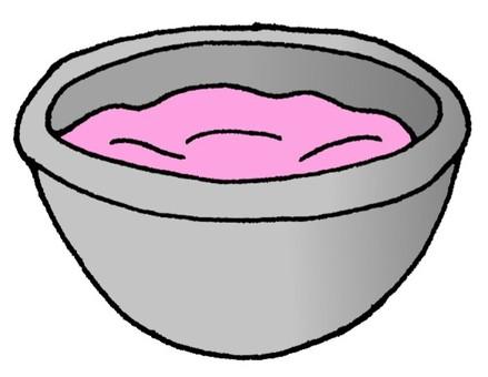 Ichigo chocolate water boiled