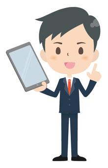 Businessman * Tablet 01