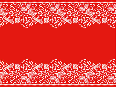 Lace braided wind (rose) brush pattern