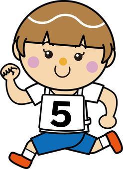 Girl 16_09 (running · number 5)