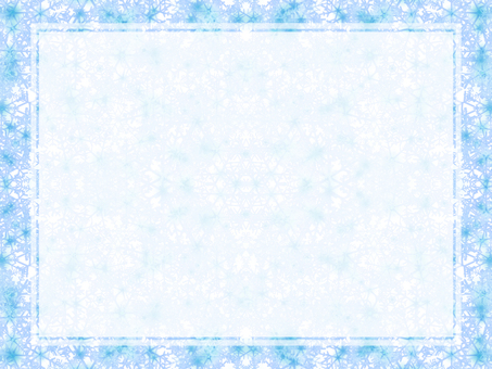 Snow Crystal Message Card -1