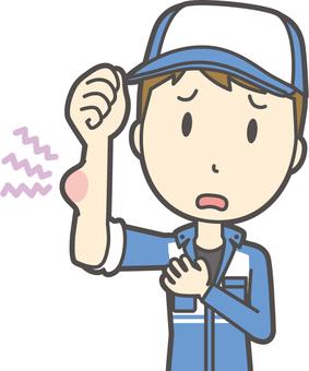 Male mechanic-309-Bust